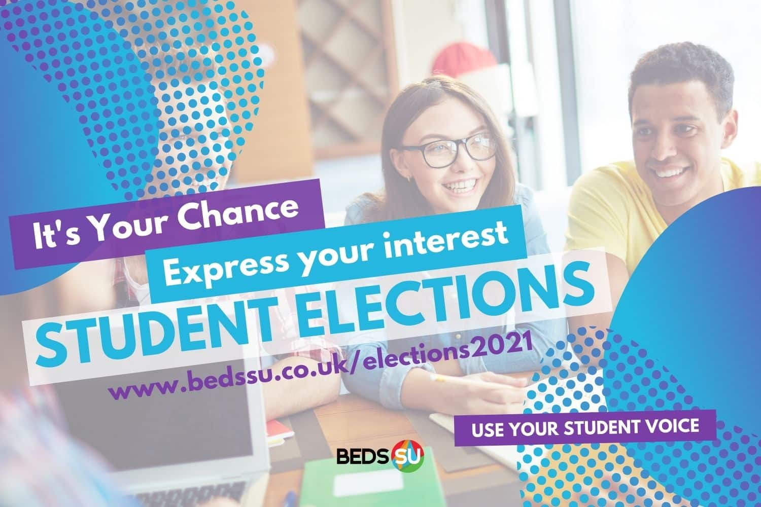 Beds SU Student Elections - Express Your Interest