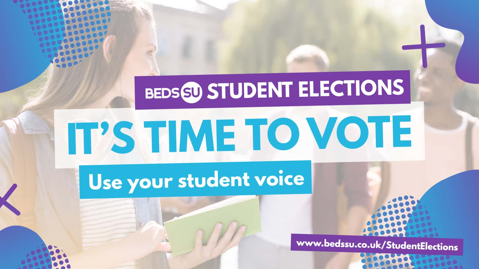 It's Time To Vote! - Beds SU Student Elections 2021